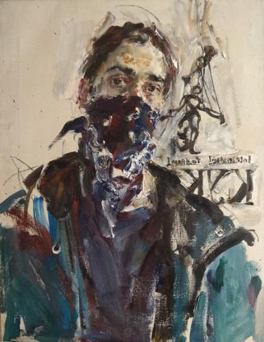 The Russian Ark Yuriy Ushakov Self Portrait in Quarantine