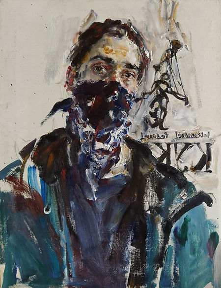 Yuriy Ushakov_Self portrait_65x51_oil on