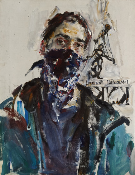 Yuriy Ushakov_Self portrait_65x51_oil on