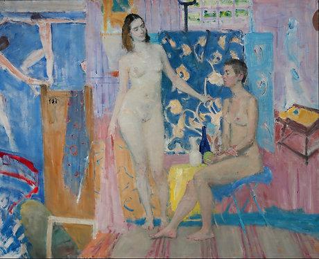 Nudes After Matisse by YURIY USHAKOV