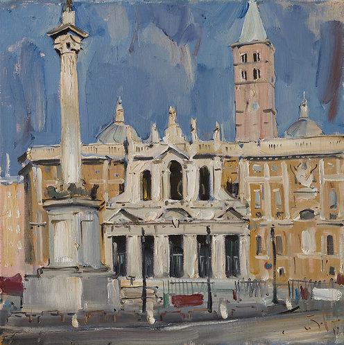 Santa Maria Maggiore in Rome by ILYA ZORKIN