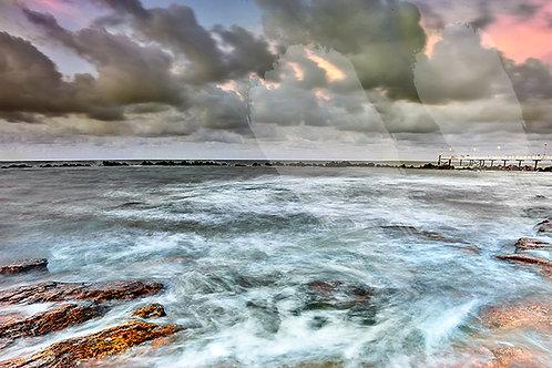 Stormy Seas Nightcliff Jetty