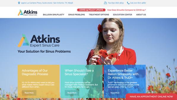 ATKINS EXPERT SINUS CARE
