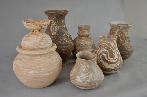 Family of Earthenware Vessels