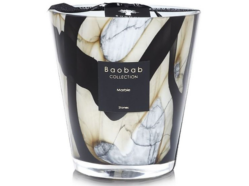Baobab Collection - Stones Marble Max16 Candle