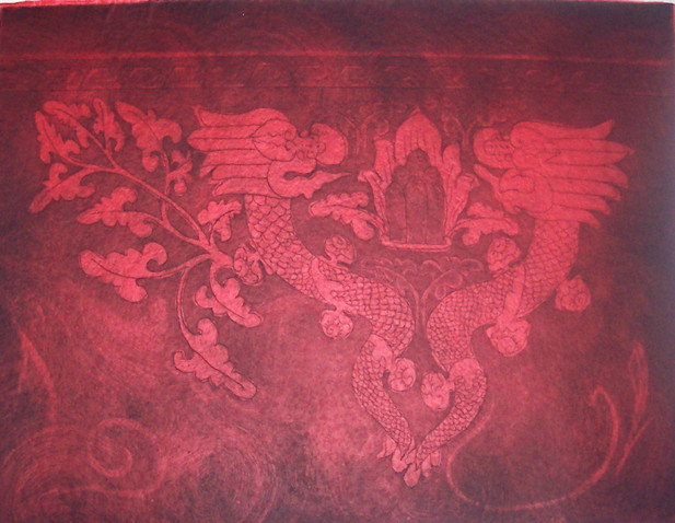Aquatint Tibetian 12x25