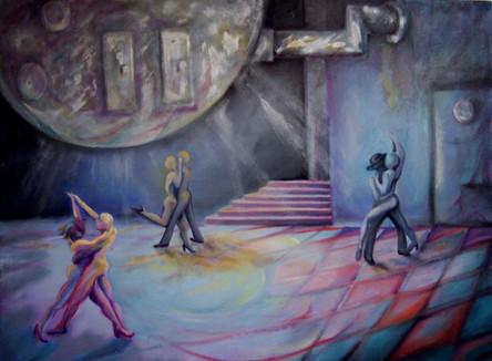 Tango Dancers 36x48