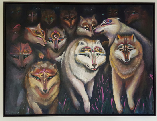 Wolfpack 36x48