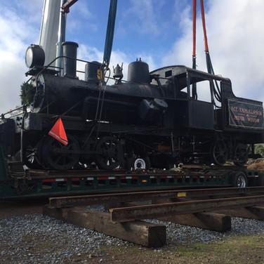 November 2018 - No. 9 arrives in Sonoma County.