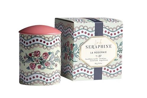 L' or de Seraphine - La Roseraie Medium Candle