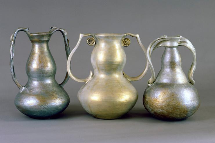 Three Pearl Vessels
