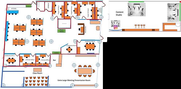 Fashion Tech Works floorplan