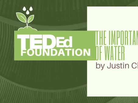 TED Ed Foundation | The Importance of Water                 by Justin Choi