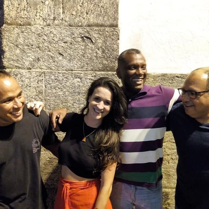 Ouvidoria do samba no Rio Scenarium