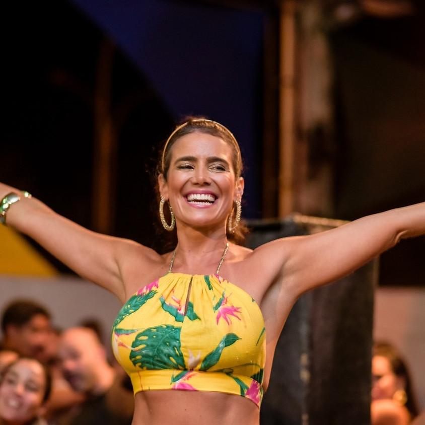 Luana Vaz no Rio Scenarium