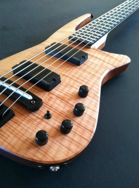 NS bass guitar 05-2012 JK Custom Woodwor