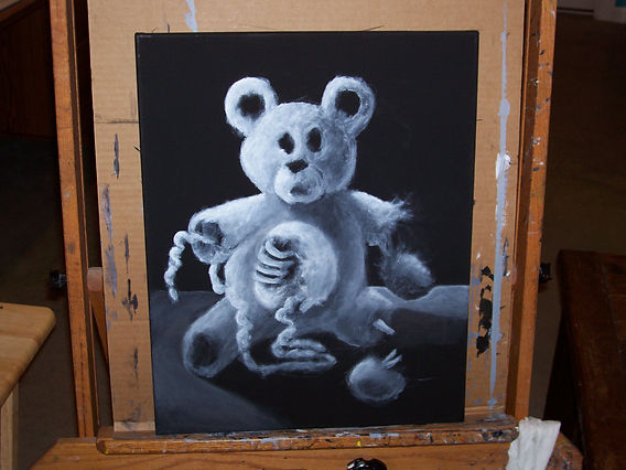 Zombie Teddy (blocked in)