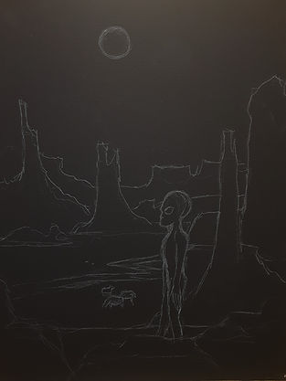 Midnight Munchies (Preliminary Sketch)