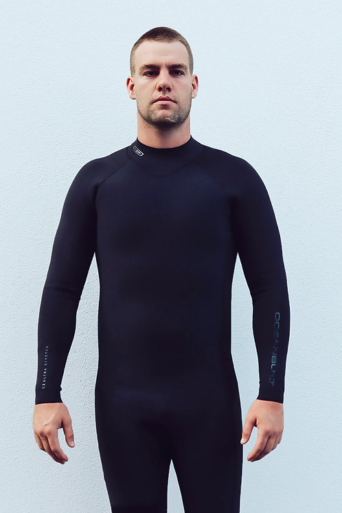 2.2mm Men's Back Zip Steamer with Ultra Stretch