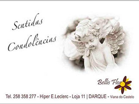 Cartão de Condolências 1 - embª 108
