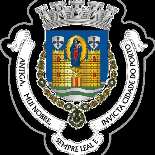 Autocolante Vinil - embª 24 - Porto