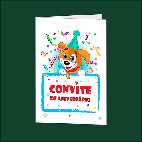 Convite Anivª 07 - Embª 25 com envelope