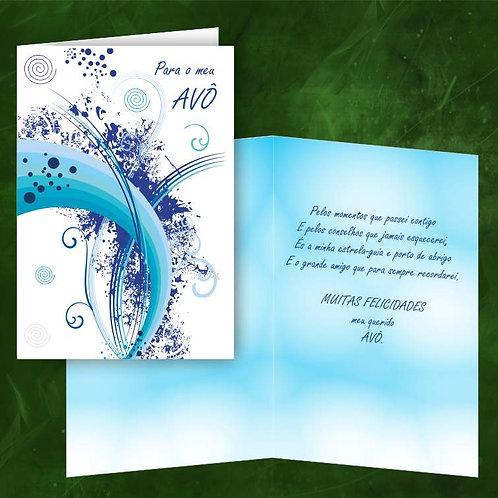 Cartão felicitações Avô | embª 6