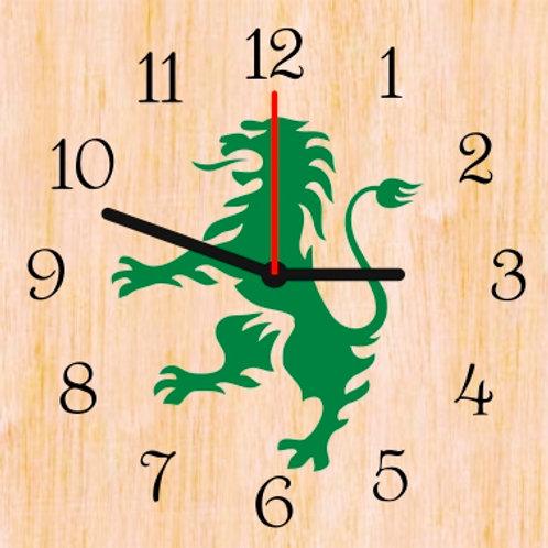 Relógio em madeira - 25x25cm - mod.5
