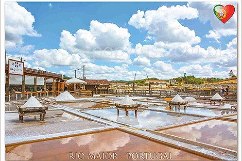 Postais Rio Maior 1 - embª 50