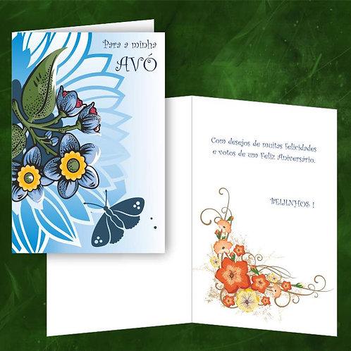 Cartão felicitações Avó   embª 6