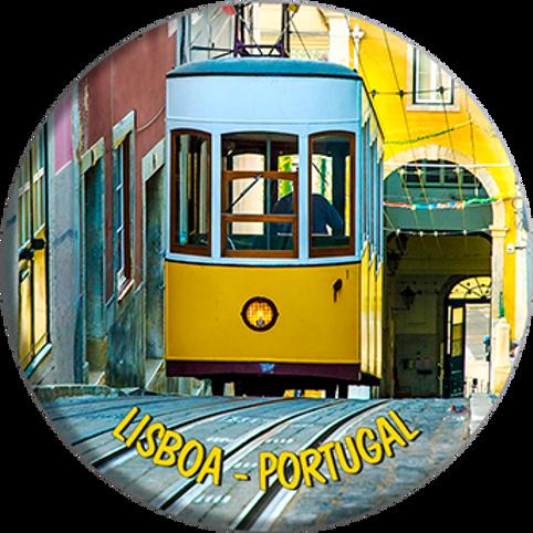 Íman 58mm | Lisboa 4 | embª 12
