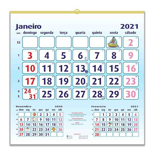 Calendário grande - embª 50