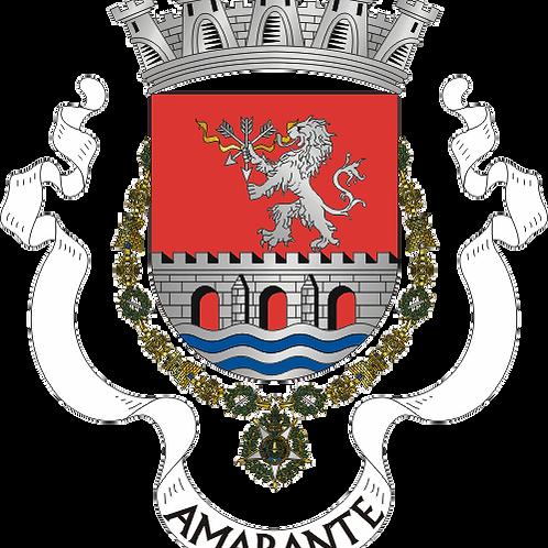 Autocolante Vinil - embª 24 - Amarante