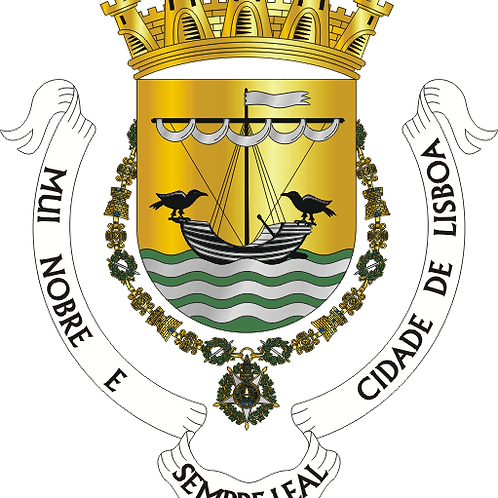 Autocolante Vinil - embª 24 - Lisboa