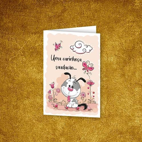 Mini Cartão com envelope - embª 12 - refª 52