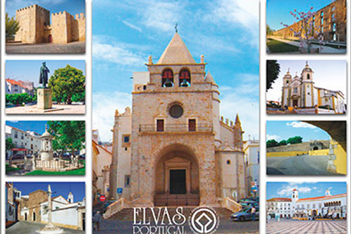 Postal Elvas 3 - embª 50