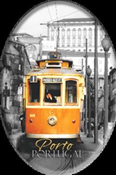 Íman oval Porto 6 - embª 12