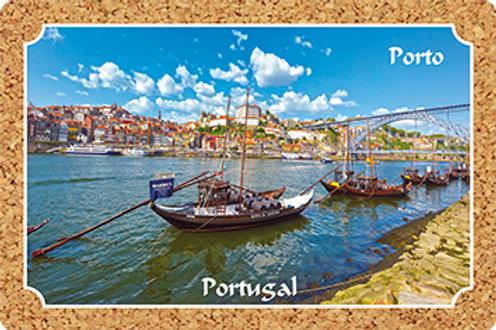 Postal cortiça - embª 18 - Porto 1