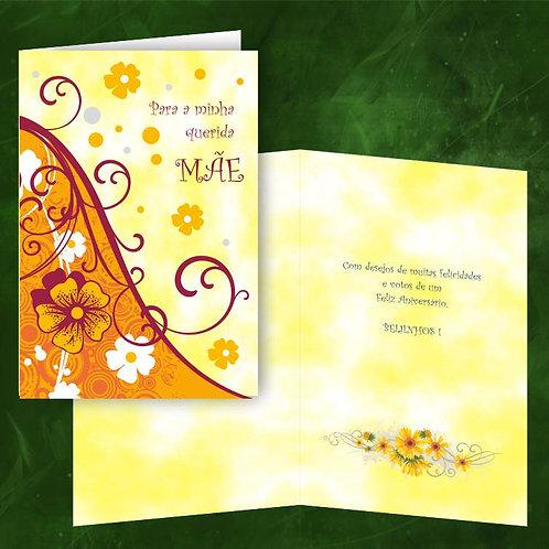 Cartão felicitações Mãe | embª 6