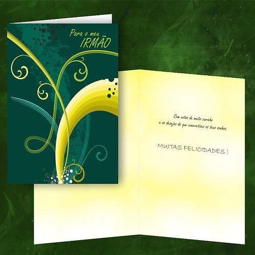 Cartão felicitações Irmão | embª 6