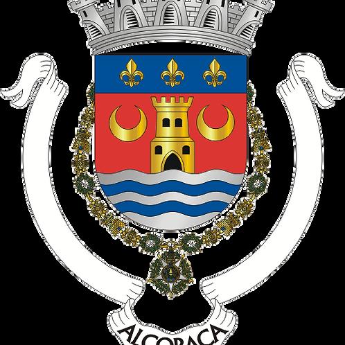 Autocolante Vinil - embª 24 - Alcobaça