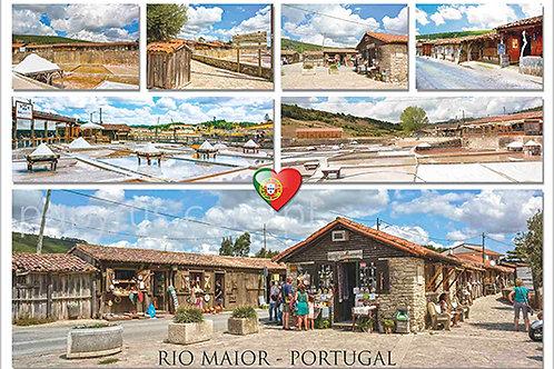 Postais Rio Maior 7 - embª 50