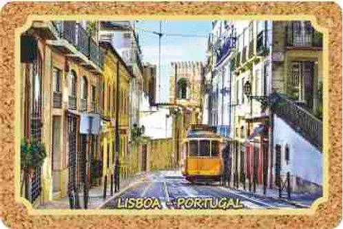 Postal cortiça Lisboa 2 | embª 18