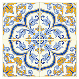 Postal 15x15cm - Azulejo 1 - embª 50