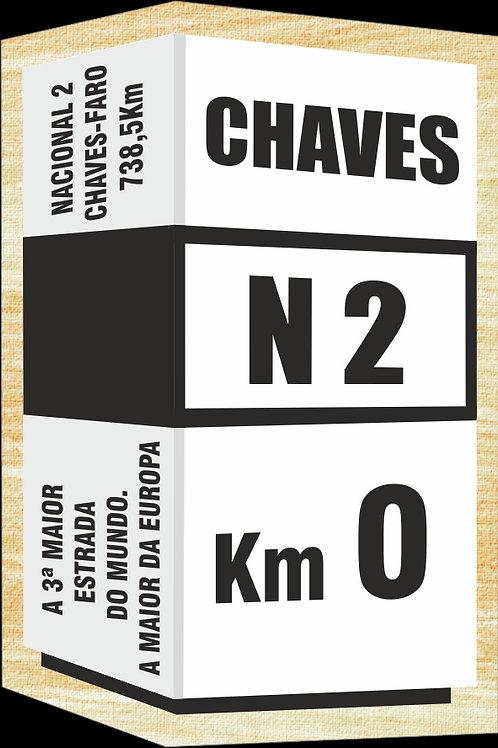 Íman madeira N. 2 Km0 - embª 40