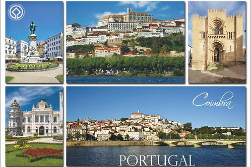 Postal Coimbra 9 - embª 50