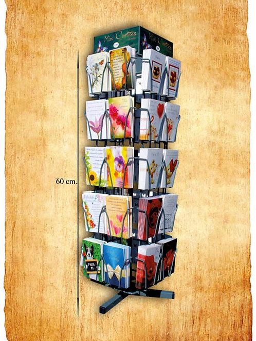 Lote de 400 Mini Cartões com env. - oferta do expositor