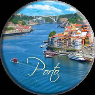 Íman redondo - Porto 4 - embª 12