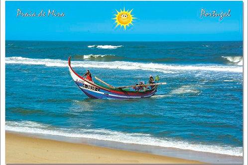Postal Praia de Mira 7 - embª 50