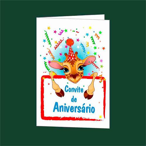 Convite Anivª 06 - Embª 25 com envelope